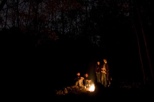 Mount Royal bonfire