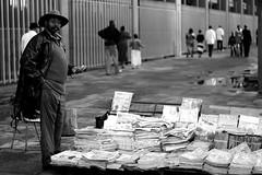Newsstand owner, Nairobi