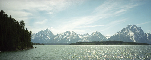The Grand Tetons by Joe Shlabotnik