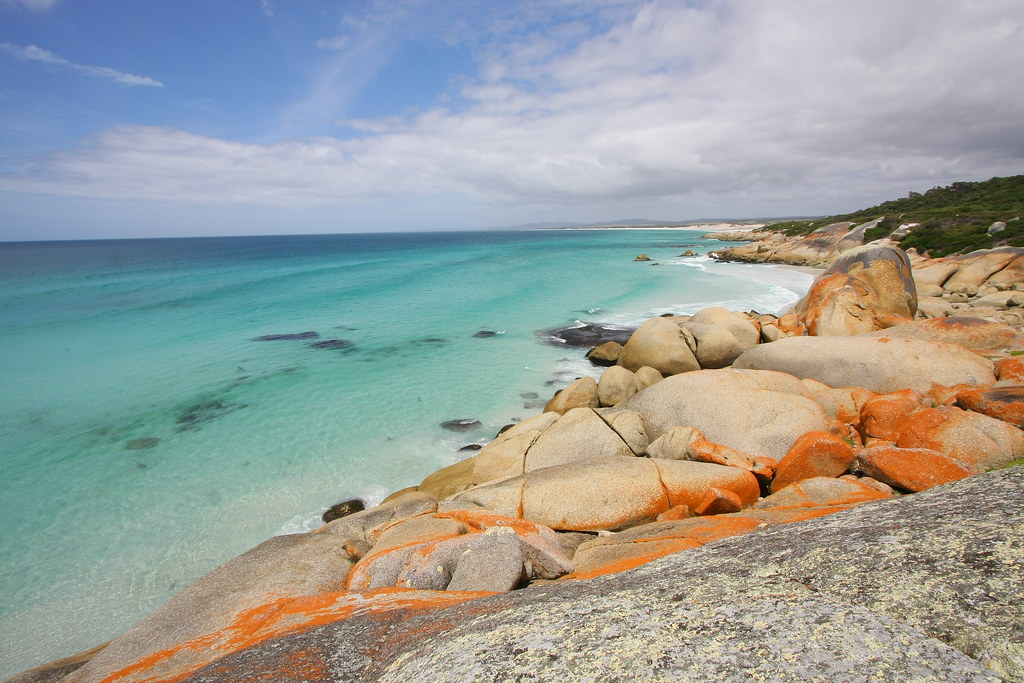 Bay of Fires, Tasmania | Photo by Annie Oakley via Flickr