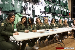 Jets Flight Crew 2010 Swimsuit Calendar Signing