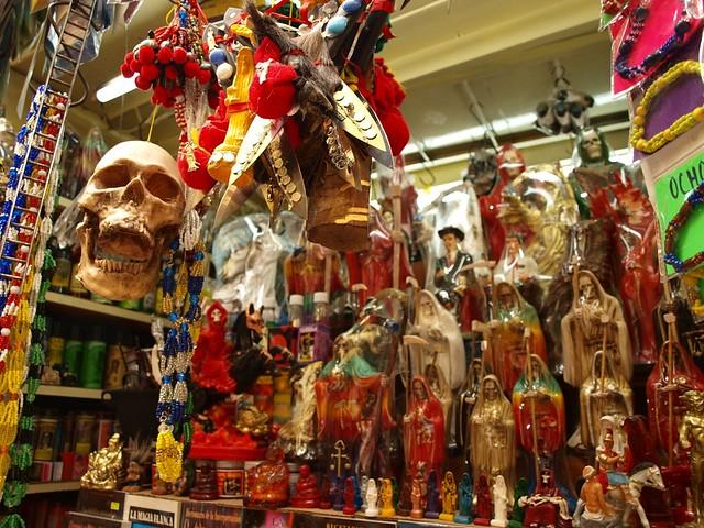 FOTO UNIK : Sonora, Pasar Para Penyihir di Meksiko