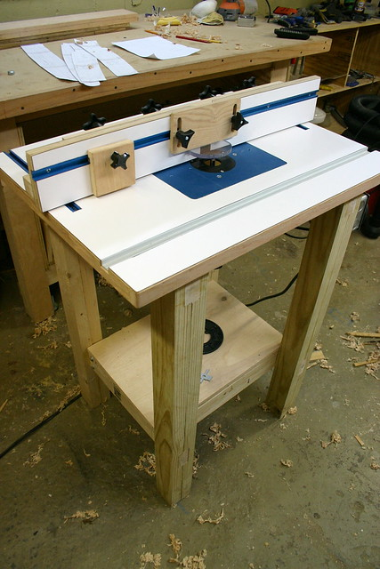 Homemade+Router+Table Homemade Router Table and Fence | Flickr - Photo ...