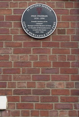 Photo of Chas Chandler black plaque