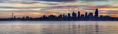 seattle panorama sunrise nikon alki hdr d90 3xp seacrestpark tokina100mmf28atxprod atxm100afprod freemanmester 8shotstitch