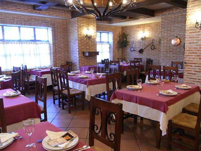 Comedor del Rincón La Vega de Levante