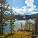 Vista of Ellery Lake - Yosemite California