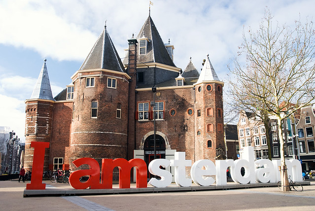 I Amsterdam Nieuwmarkt