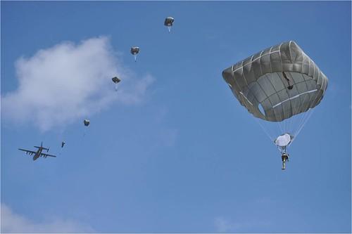 Captain Albert Berry Parachute photo