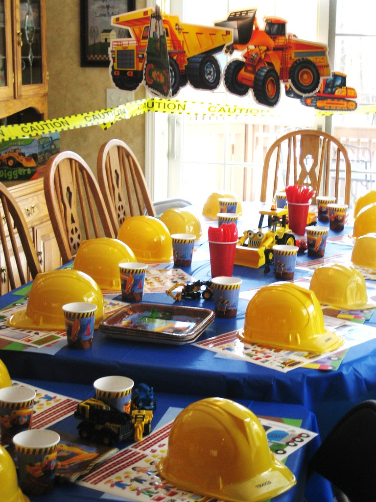 Construction Birthday Party Decorations Kids Birthday Partiess Most Recent Flickr Photos Picssr