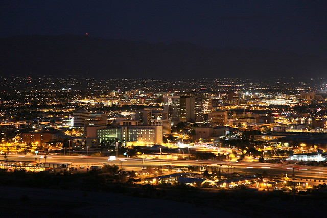 tucson at night nasa - photo #23