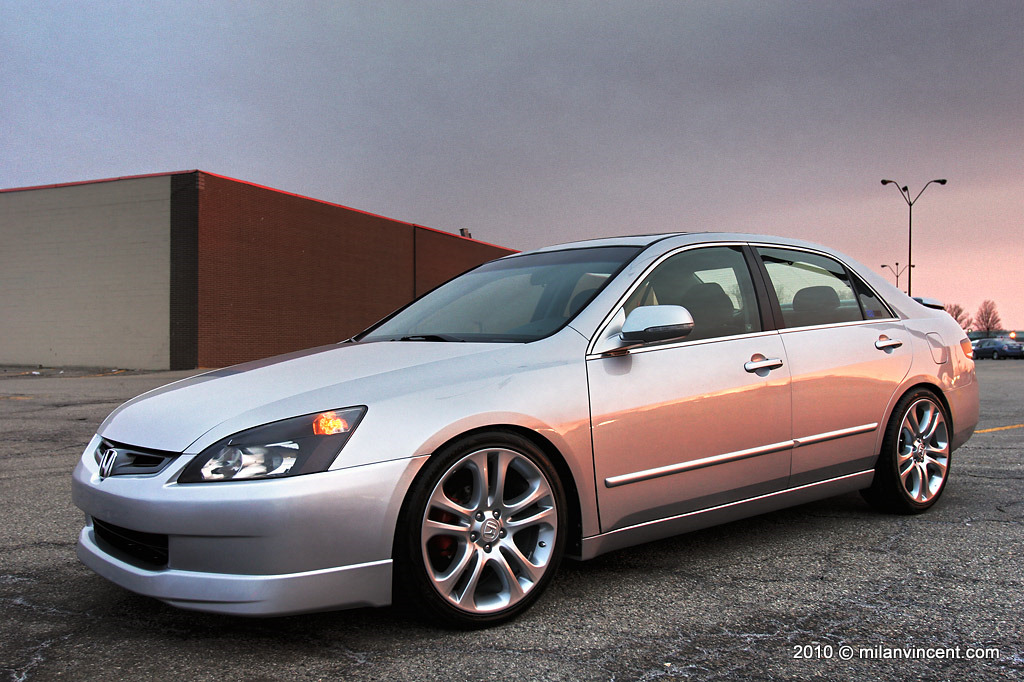2009 honda civic ex rims on a 2006 accord image