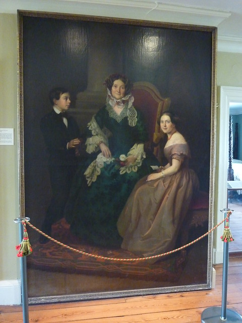 Eliza jumel her grandchildren by alcide ercole 1854 for 65 jumel terrace