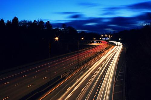 M25 Light Trails