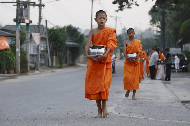 Chom Thong Thailand  city photo : Little Monks, Chom Thong, Chiang Mai, Thailand | Flickr Photo ...