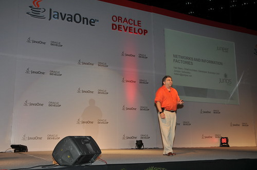 Mr Hal Stern from Juniper Networks @ JavaOne Oracle Develop Conference 2011