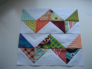Zig Zag Grace Circle - June Block