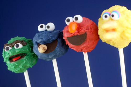 Elmo Cake Pops Bakerella