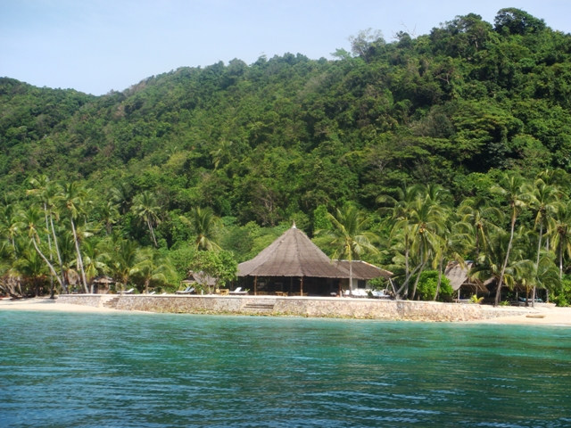 pangulasian resort (used to be the biggest resort in El Nido)