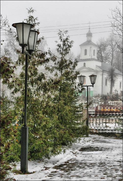 Снов, Церковь св. Козьмы и Демьяна