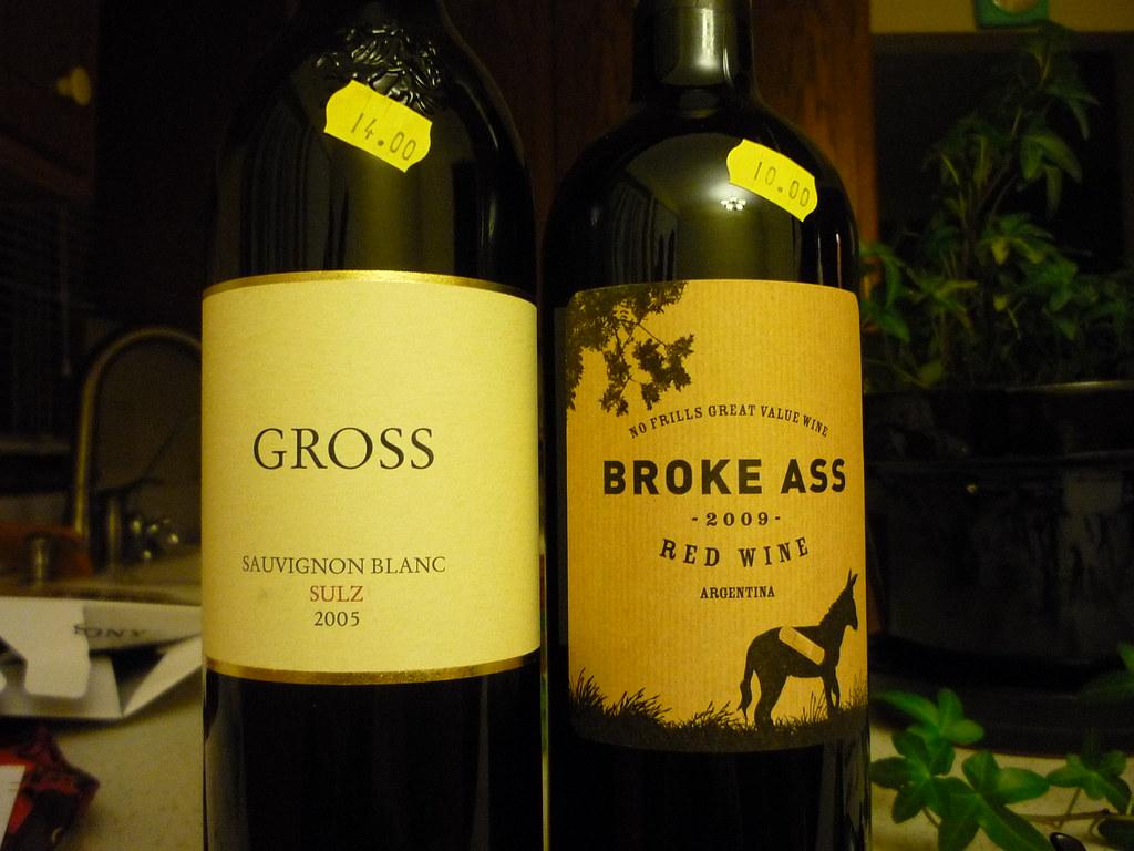 My taste in wine.