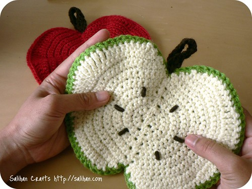 Apple Tawashi Dishcloth