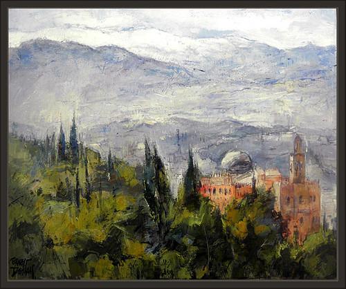 Granada sierra nevada ernest descals pinturas andalucia - Pinturas arenas granada ...