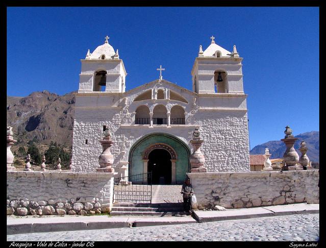 Povoado no Vale do Colca - Arequipa - Peru