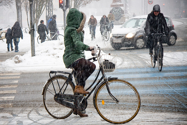 Green and Lean - Cycling in Winter in Copenhagen