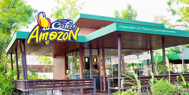 amazon cafe'