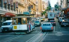 San Francisco Bay tram USA