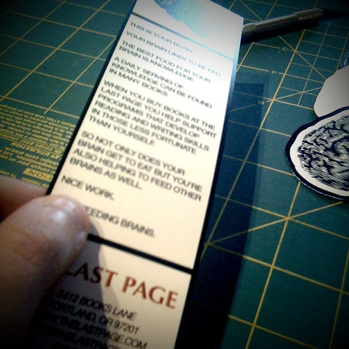 The Last Page Bookmark