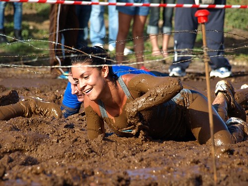 Barbed Wire Crawl, Canarias Xtreme 2010