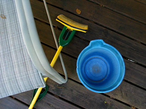 Patio Chair Bucket Mop