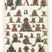 001-Letra A-Owen Jones Alphabet 1864- Copyright © 2010 Panteek.  All Rights Reserved