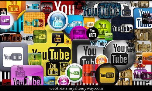 Webtreats - 272 YouTube Icons Promo Pack