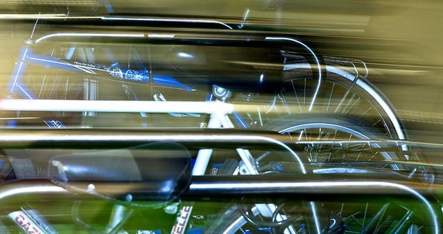 Barres et vélos