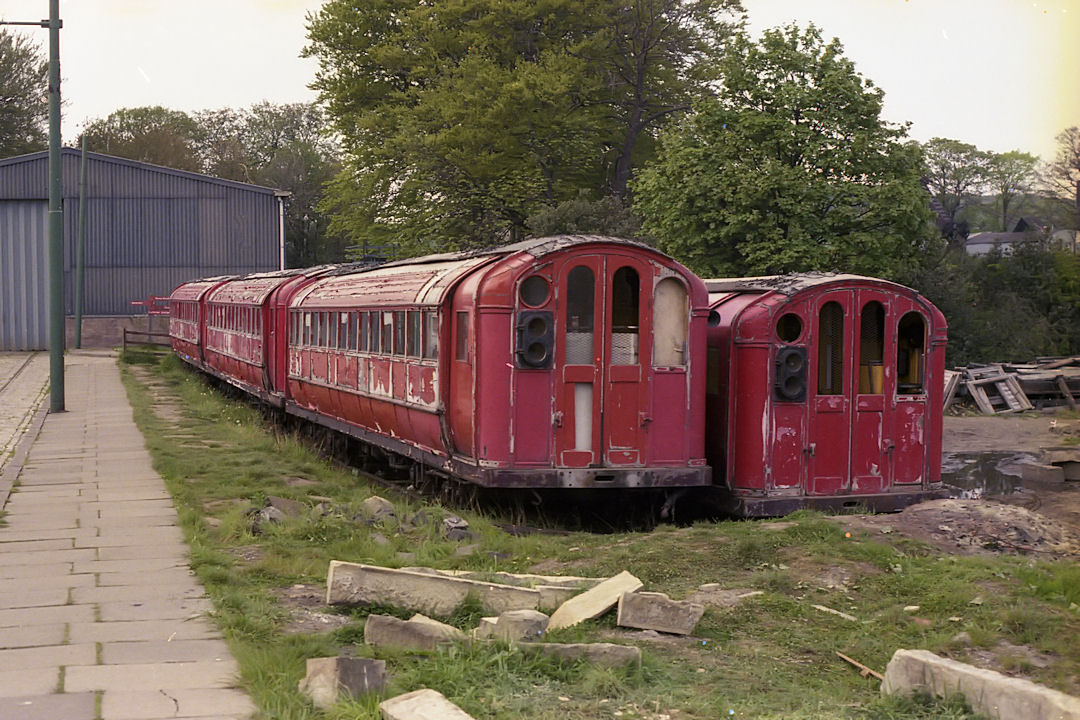 1896 Glasgow Subway Company Driving Cars At Beamish 1980