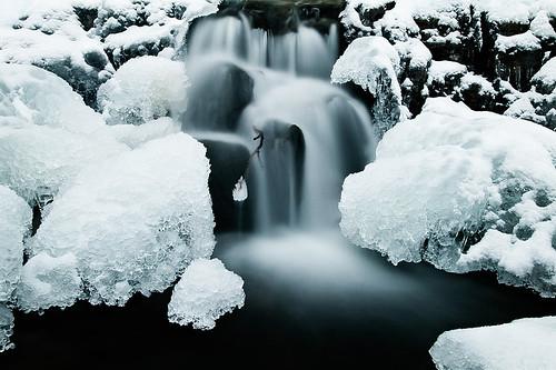 10 fotos de cascadas heladas