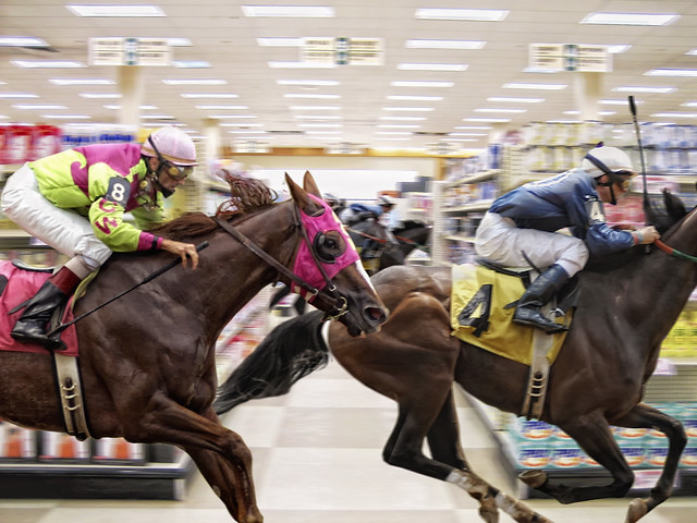 Shopping - Race to the Checkout