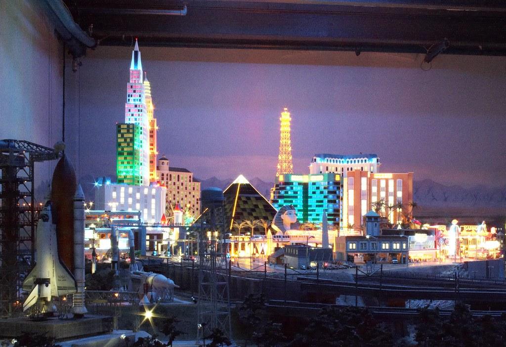 Miniature Las Vegas at Night by Andrey Belenko, on Flickr