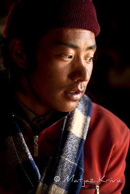 A boy from Darchen Tibet