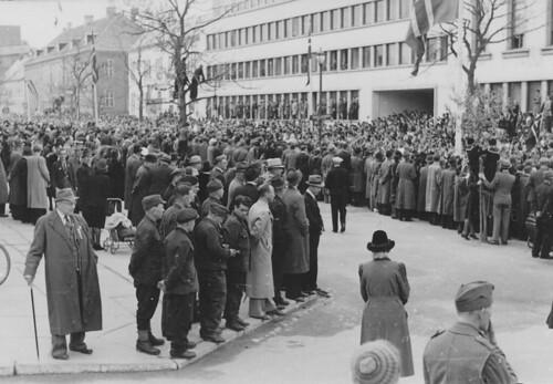 Borgertoget 17 mai i Trondheim (1945)
