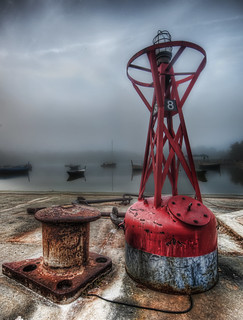 Fog in the Fishing Village