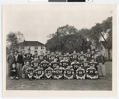 North Side High School varsity football team.