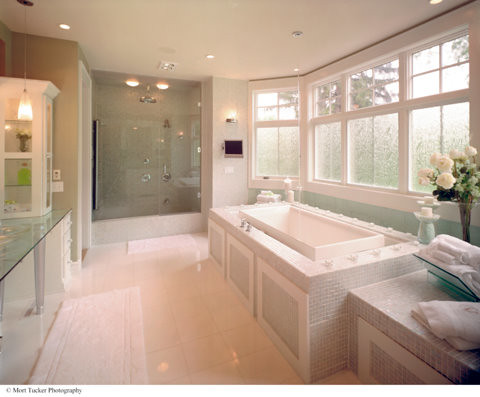 A beautiful custom master bath for schumacher homes for Beautiful small master bathrooms