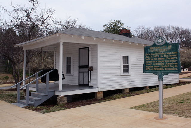 Elvis Presley s Birthplace Tupelo Missippi