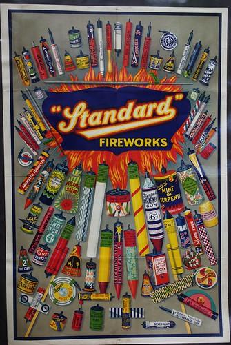 Standard Fireworks Poster - Epic Fireworks