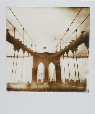 PX 600 Brooklyn Bridge by Mia Oh