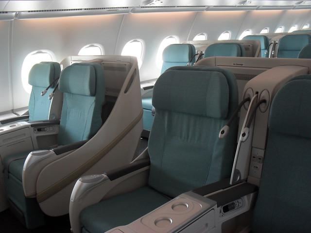 korean air a380 business class flickr photo sharing. Black Bedroom Furniture Sets. Home Design Ideas
